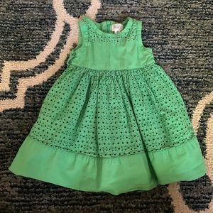 Gree toddler dress